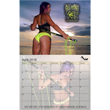 The 2018 Bikini Spearfishing Calendar (SPECIAL COLLECTORS BACK ISSUE PRICE)