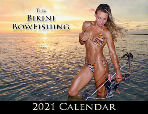 The Official 2021 Bikini Bowfishing Calendar