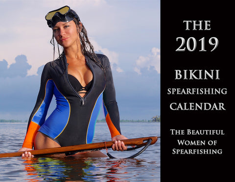 The Official 2019 Bikini Spearfishing Calendar (Collectors Back Issue)