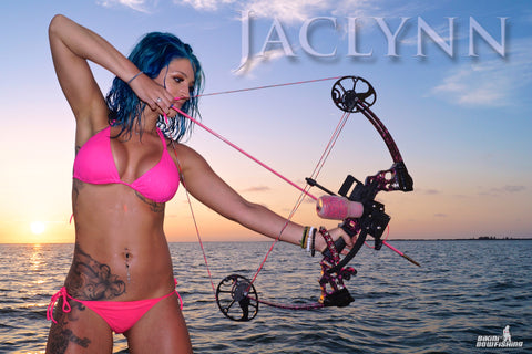 "Jaclynn Crooks ""FULL DRAW"" Poster"
