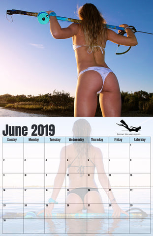 Official The Spearfishing Bikini 2019 Calendar n0Oy8wvmNP