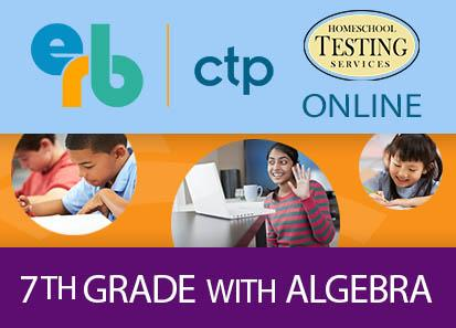 7th (ages 11-14) CTP (Algebra Included)