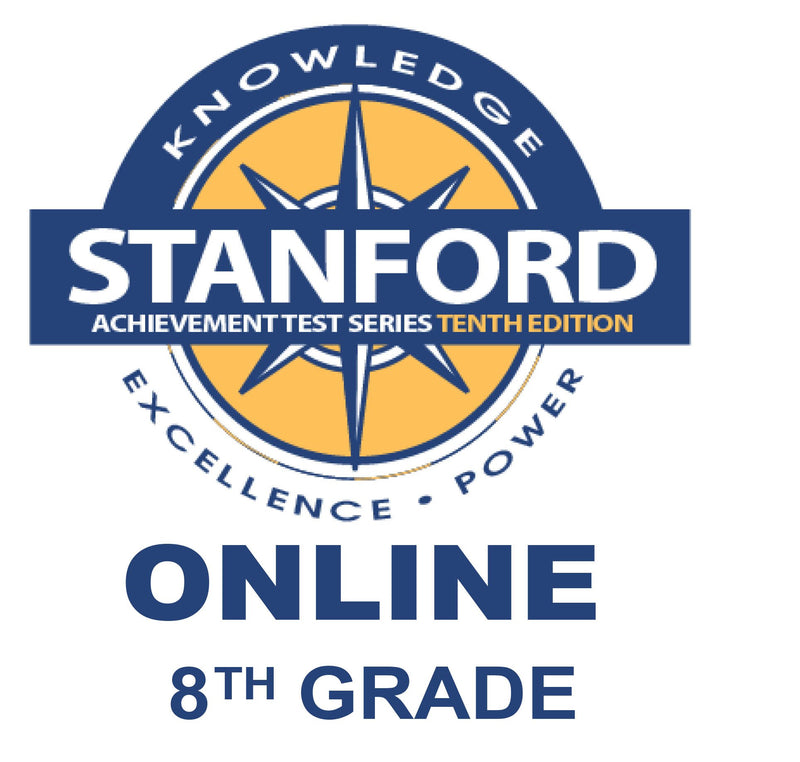 8th (ages 12-14) Stanford