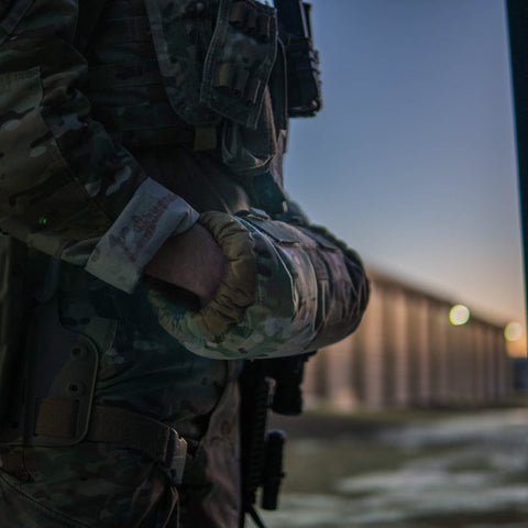 FHF Gear MOLLE Muff tactical hand warmer, Steven Drake Photography