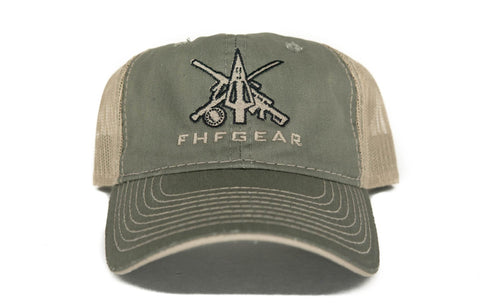 FHF Green Trucker Hat