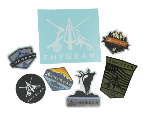 FHF Gear Sticker Pack