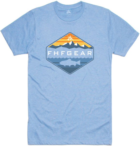 FHF Gear Angler T-Shirt- Blue