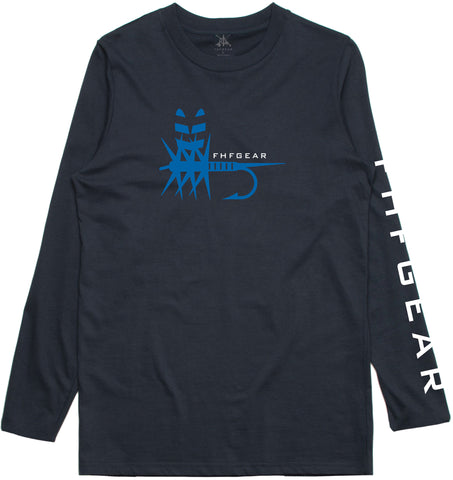 FHF Gear Performance Tee Adams Fly - Navy