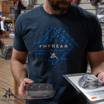 FHF Gear Tactical Mountain T-Shirt - Navy
