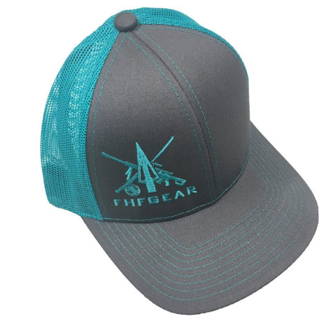 FHF Ladies Charcoal Trucker Hat