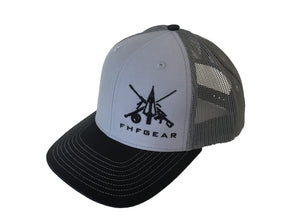 FHF Charcoal/Grey/Black Hat