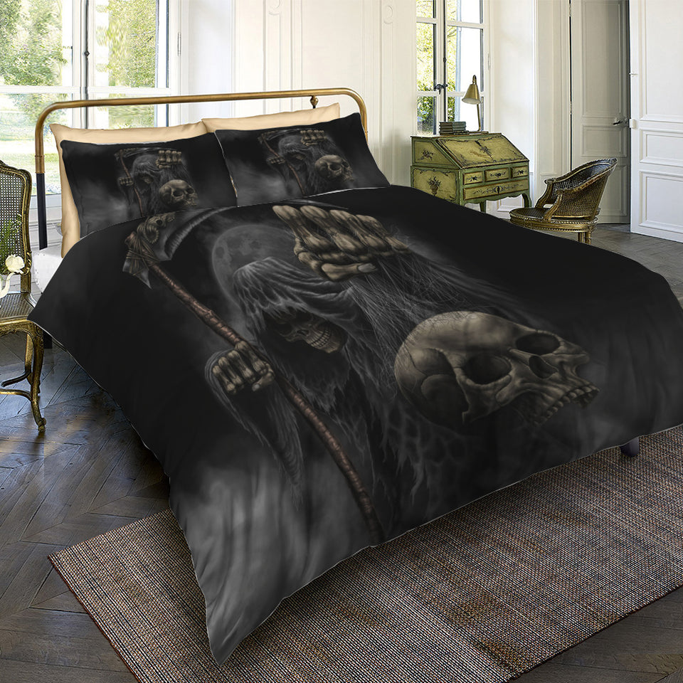 Skull Bedding Set - 00100