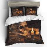 Skull Bedding Set - 00203