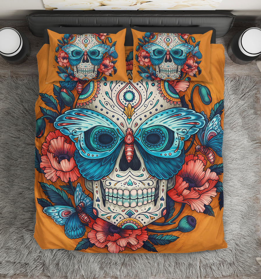 Skull Bedding Set - 00222