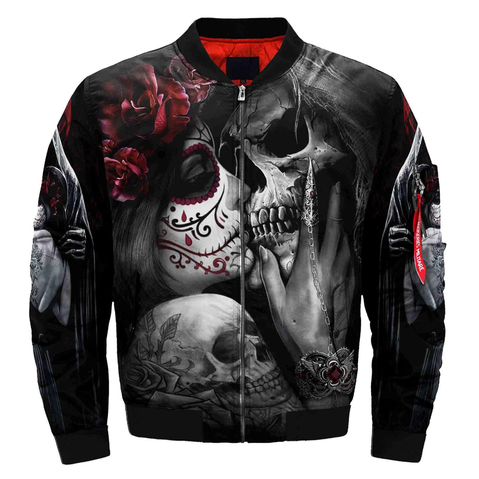 Skull Winter Jacket - 00365