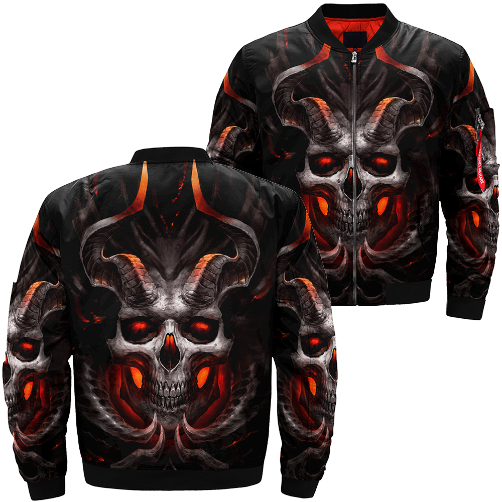 Skull Winter Jacket - 00369