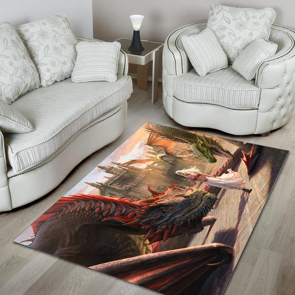 Dragon Area Rug - 01860