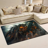 Dragon Area Rug - 01906