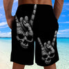 Skull Shorts_Rock on Hand