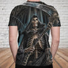 Skull 3D T-shirt_Lord of Time
