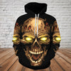 Skull 3D Hoodie_Screaming Skull