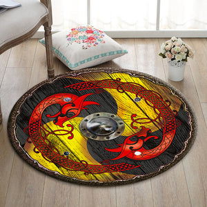 Viking Round Mat Viking Shield - 04750