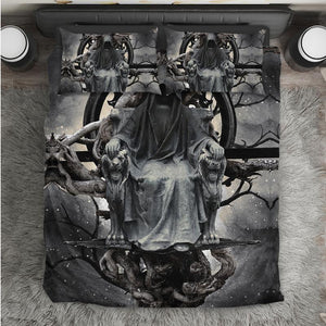 Skull Bedding Set - Dark Witch - 0509
