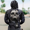 Skull 3D Zip and Normal Hoodie - Nightmares