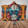 Skull Hooded Blanket - 0778