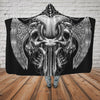 Skull Hooded Blanket - 0841