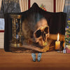 Skull Hooded Blanket - 0880