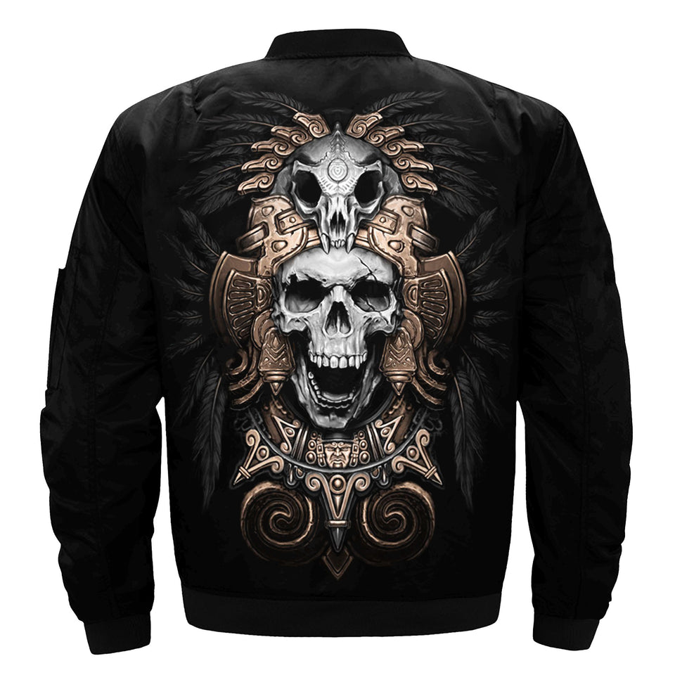 Skull Winter Jacket - 0994