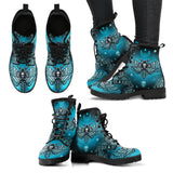 Skull Leather Boot -00346