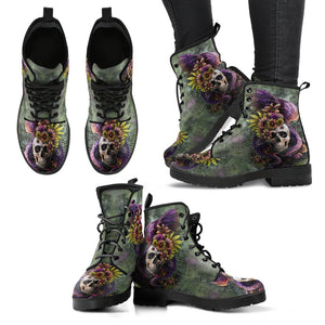 Leather Boots_New Skull Art