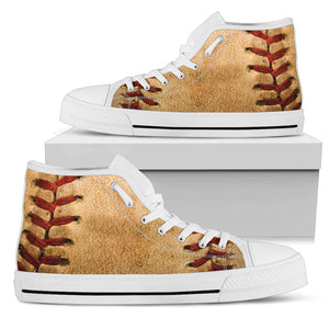 High Top Shoes_Baseball Ball
