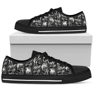 Skull Low Top Shoe - 01678