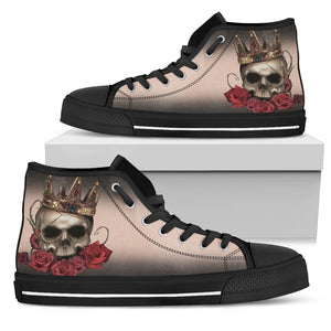 Skull High Top Shoe_Skull and King Throne