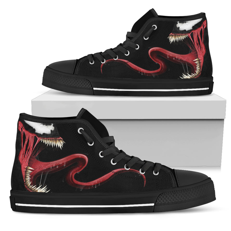 Skull High Top Shoes 00458