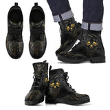 Skull Leather Boots - 00032