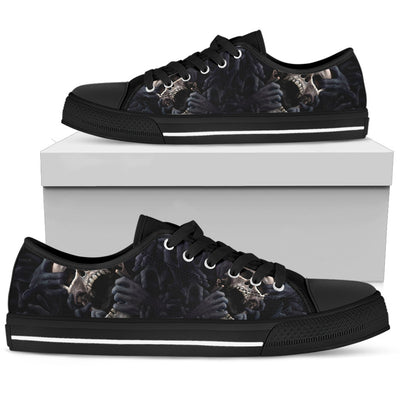 Skull Low Top Shoe - 01855