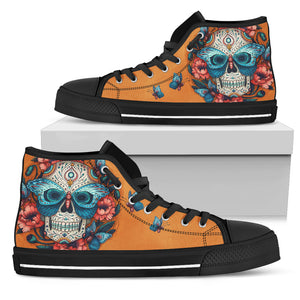 Skull High Top Shoe 00031