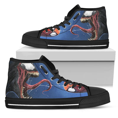 Skull High Top Shoes - 00459