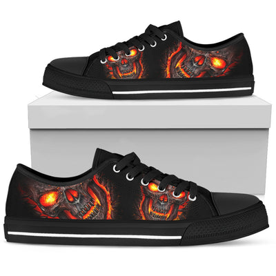 Skull Low Top Shoe - 01854