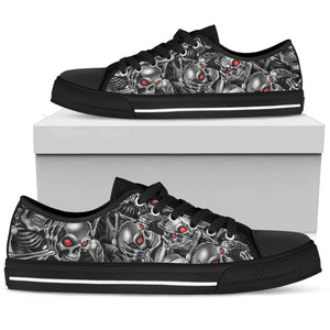 Skull Low Top Shoe - 01550