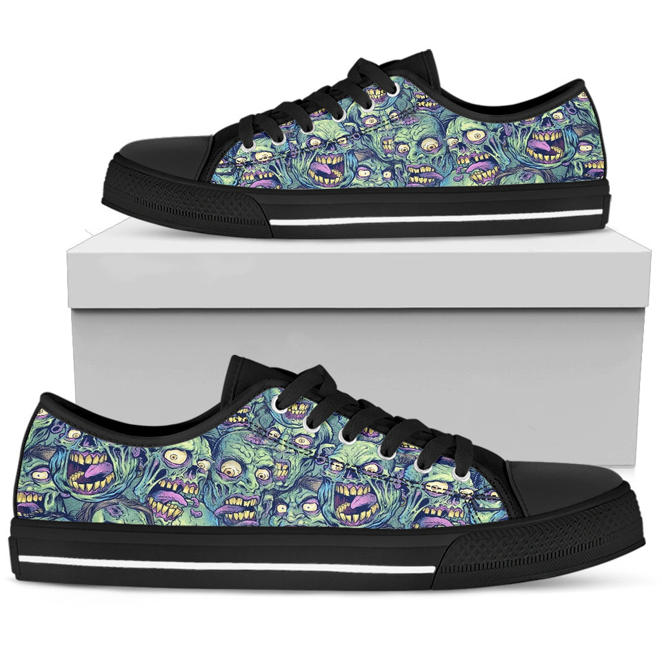 Skull Low Top Shoe - 01679