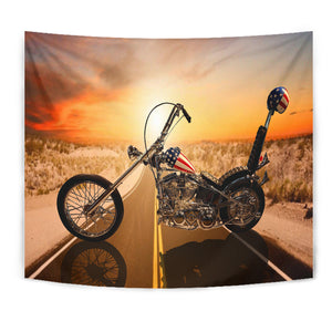 Motorcycle Tapestry - 0697