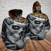 Skull 3D Hoodie_King and Queen
