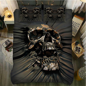Skull Bedding Set_Creaming Skull