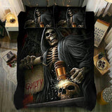 Skull Bedding Set - The Judgment  - 1088