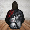 Skull 3D Hoodie - Don't love me fix me for what's broken